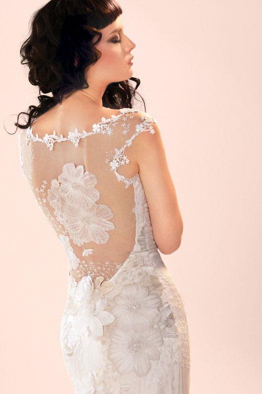Lingerie Wedding Dress 85 Great Claire Pettibone Orange Blossom