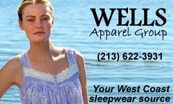 Eileen West at Well's Apparel