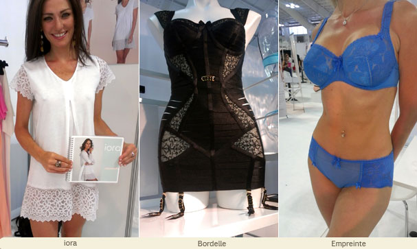 CurveNY day 1 ~ even more beautiful luxury lingerie lines including iora, Bordelle and Empreinte