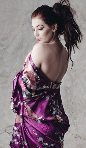 kimono as seen on Lingerie Briefs