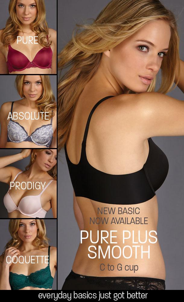 montelle-intimates-pure plus smooth bras
