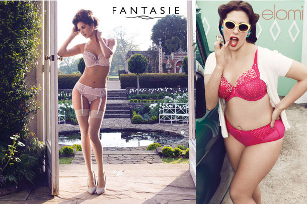 outlet store sale fashionablestyle vivid and great in style Elomi 'Betty' and Fantasie 'Melissa' SS14 - Lingerie Briefs ...