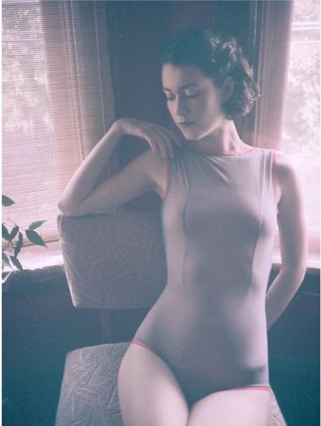 Rachel Rector models her own creation for RR Lingerie Photo by Dan Busta
