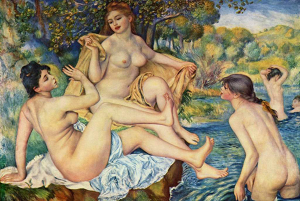 The-Large-Bathers-Pierre-Auguste-Renoir-oil-painting-on-canvas-1887-nude-women-bathing-naked-river-water-pool-art