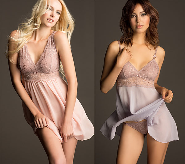Rebecca-Bust-Support-Gossamer-Chemise-and-Flirty-Babydoll