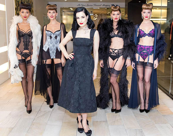 75ca34447d3 booka. It s no secret that I have great respect for the Dita Von Teese  lingerie ...