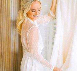 Spectacular Summer Bride ~ Flora Nikrooz