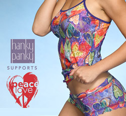 PeaceLove® Creates Peace of Mind ~ Hanky Panky