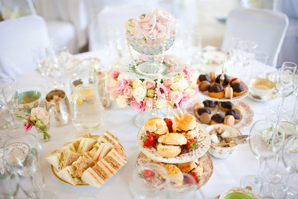 afternoon tea wedding on Lingerie Briefs