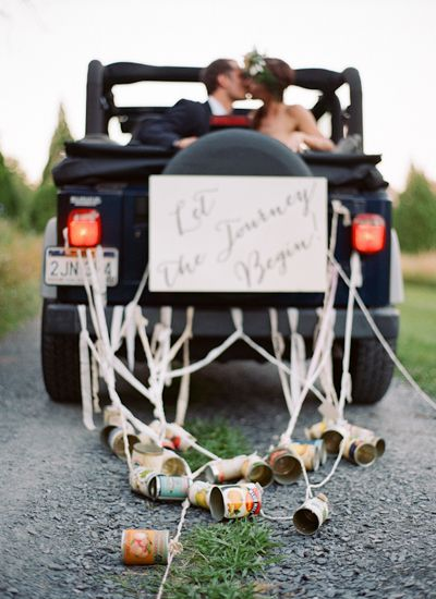 Just Married Jeep on Lingerie Briefs