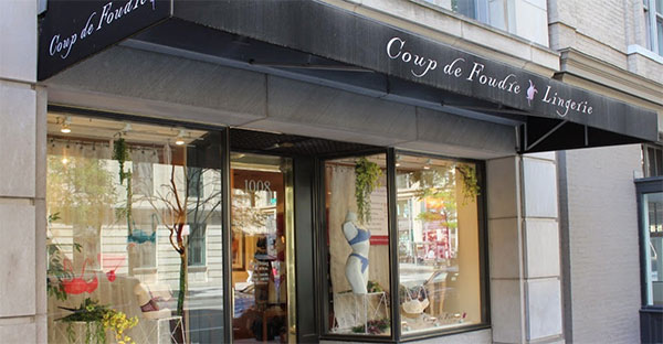 Coup De Foudre Lingerie in Washington DC on Lingerie Briefs