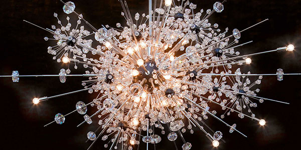 Swarovski Sputnik at NY Met on Lingerie Briefs