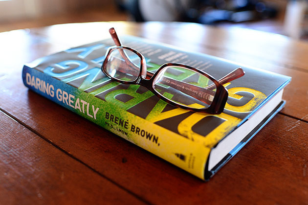 Daring Greatly by Brene Brown on Lingerie Briefs