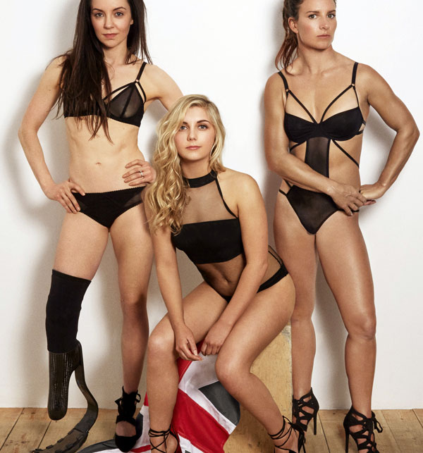 Be Strong Be Beautiful campaign from Bluebella Lingerie on Lingerie Briefs