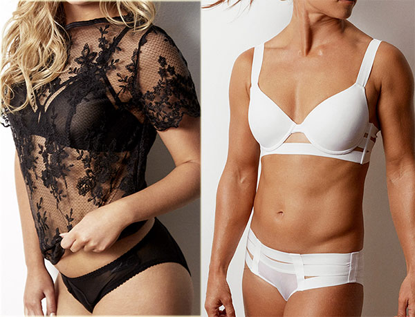 Julianna and Angelina collections from Bluebella Lingerie on Lingerie Briefs