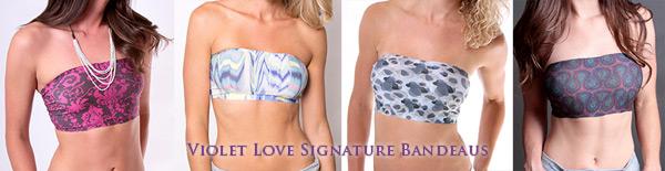 Violet Love Signature Bandeau - Coobie