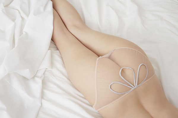Mimi Holliday bridal lingerie on Lingerie Briefs