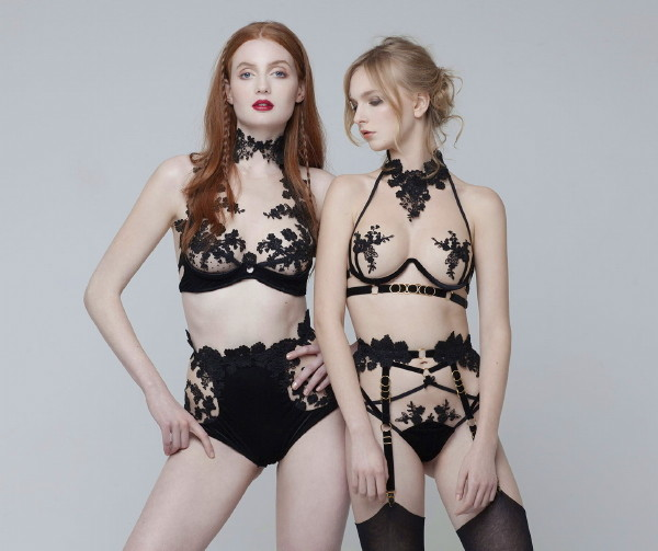 7a69c89991fe6 Couture Lingerie ~ Cristina Aielli - Lingerie Briefs ~ by Ellen Lewis