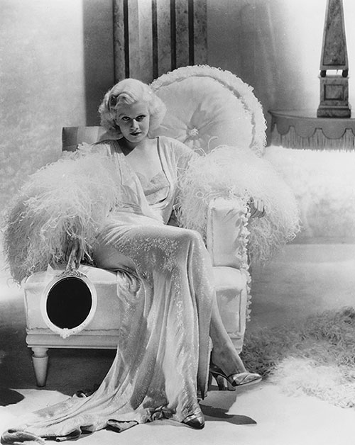 Jean Harlow on Lingerie Briefs