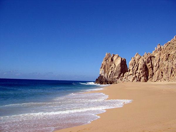beach in cabo san lucas on Lingerie Briefs