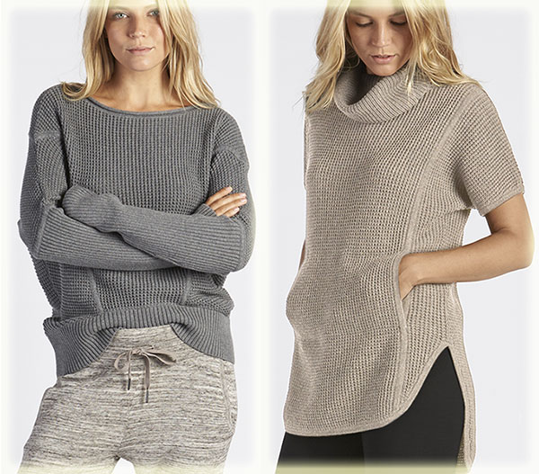 Sophia and Selby Sweaters from Ugg loungewear on Lingerie Briefs