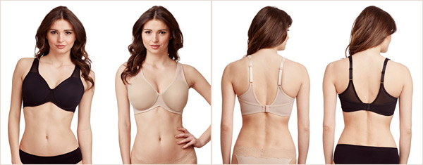 9a0381333ac0b ... Le Mystere s Mid-Impact Unlined Sport Bra. This smoothing silhouette