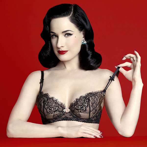 9db3a6399 Dita Von Teese Lingerie is Back in Town - Lingerie Briefs ~ by Ellen ...