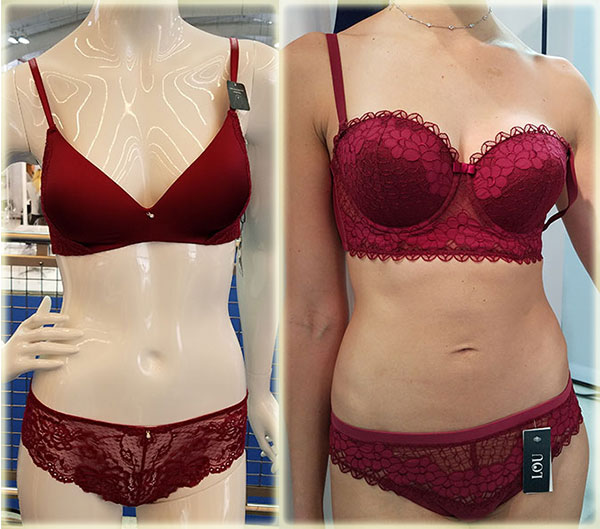 Montelle Intimates & LOU on Lingerie Briefs
