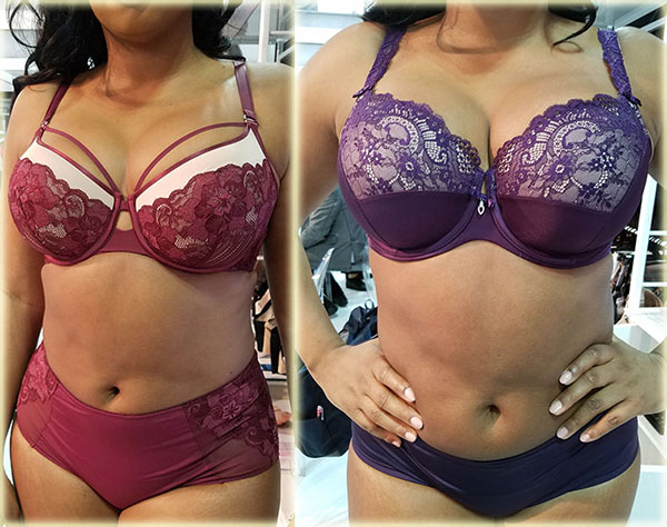 Curvy Couture on Lingerie Briefs