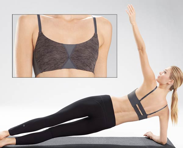 Natori Zen Yogi bra on Lingerie Briefs