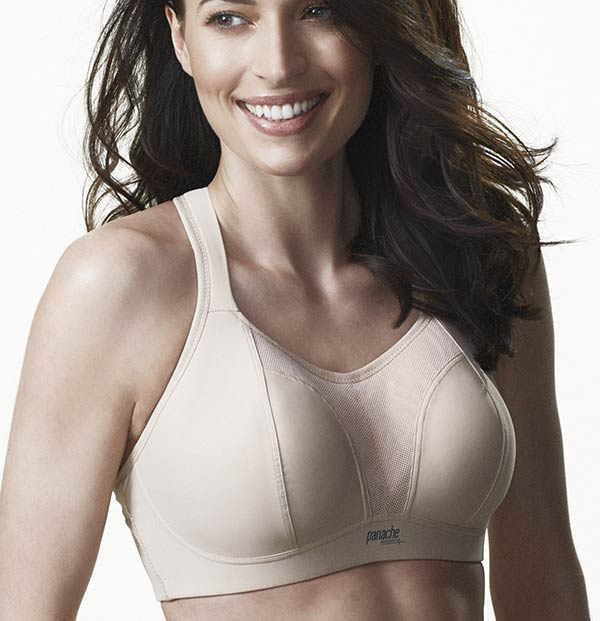 Panache wire-free sports bra on Lingerie Briefs