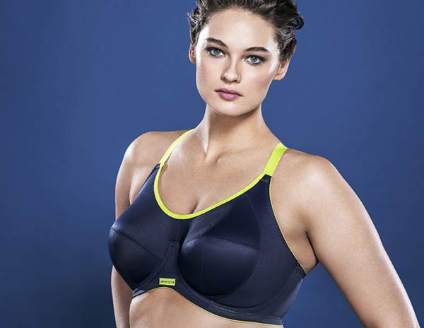 Elomi Energise sports bra on Lingerie Briefs