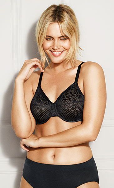 Wacoal Visual Effects Minimizer to an H cup on Lingerie Briefs