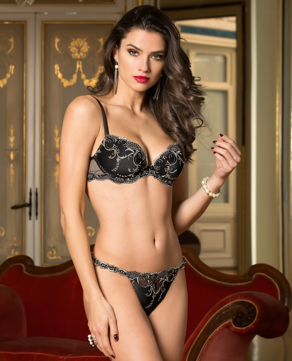 2689d4adde Fall/Winter Preview ~ Splendor Silk Collection by Lise Charmel ...