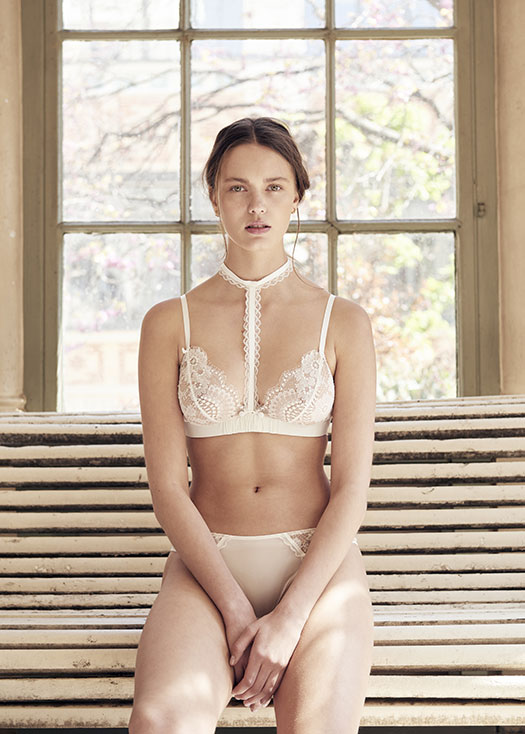 Maison Lejaby OUI bridal lingerie collection on Lingerie Briefs