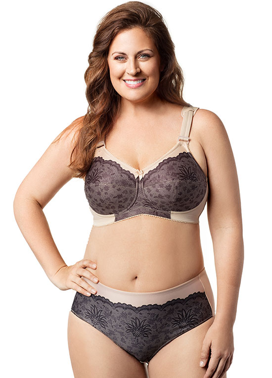 Elila jacquard bras on Lingerie Briefs