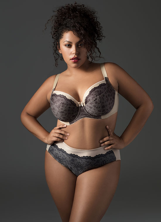 Elila Bras for Curvy Girls on Lingerie Briefs