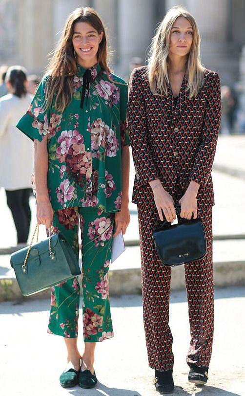 Pajamas as street fashion on Lingerie Briefs
