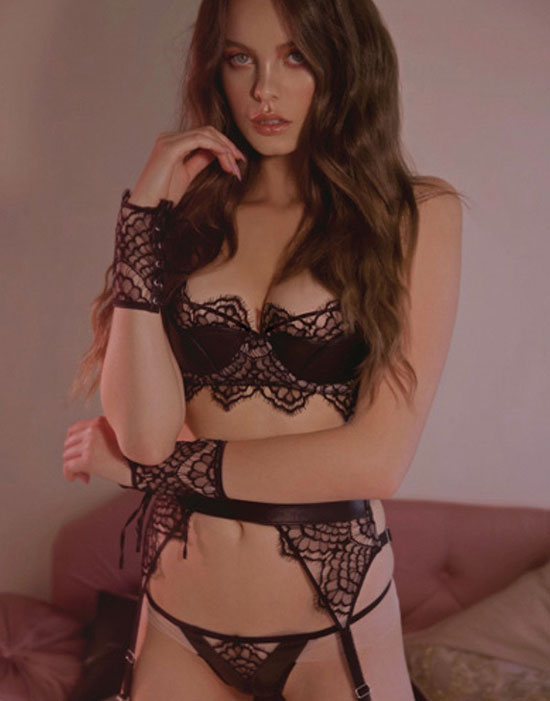 Loveday London Boudoir wear SP 2018 on Lingerie Briefs