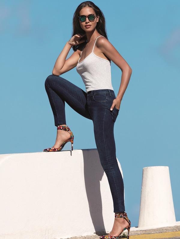 Janira's new skinny Stretch Jeans