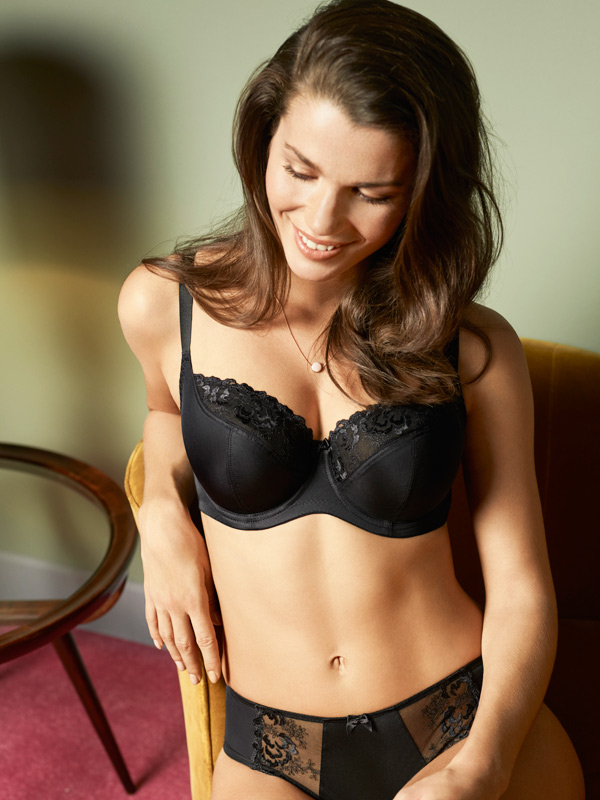 New for Fall/Winter - Panache Thea Balconnet now in black