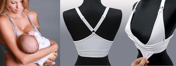 2ee1d1198d Nursing Bras in Two Styles ~ Coobie Seamless Bras