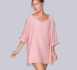 Sleep & Play in Cotton Silk Jammy Beans Tunic!