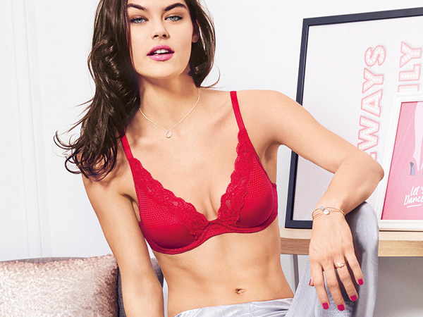 New fashion color - Mon cheri Red for Passionata Brooklyn Bra