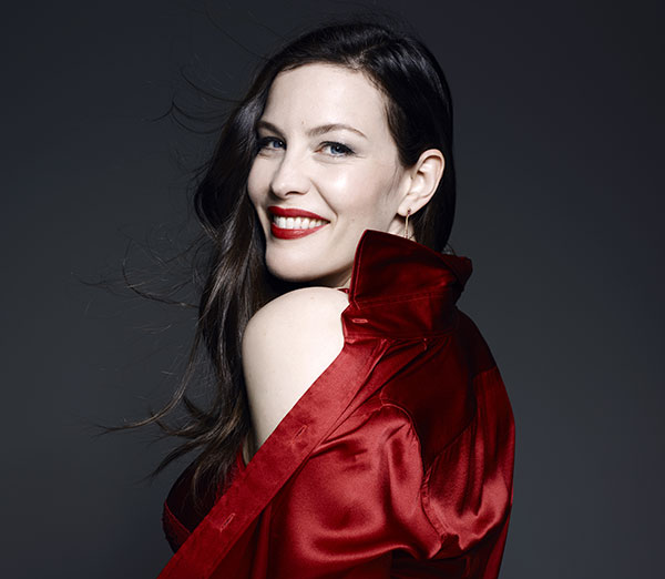 Liv Tyler for Triumph on Lingerie Briefs