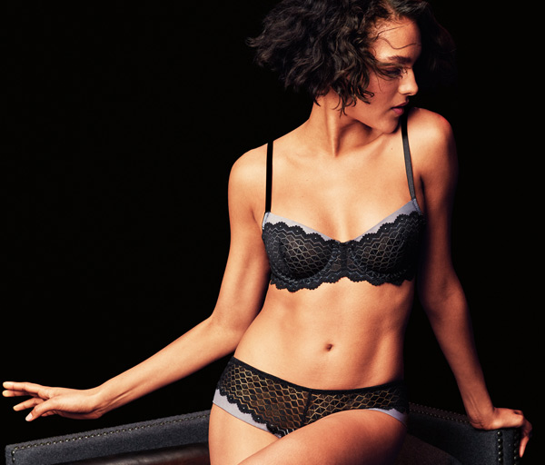 New Love Triangle Bra and Tanga collection - b.tempt'd