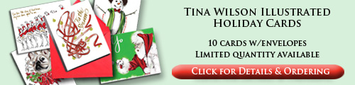 Order Tina Wilson Illustrated Holiday Cards