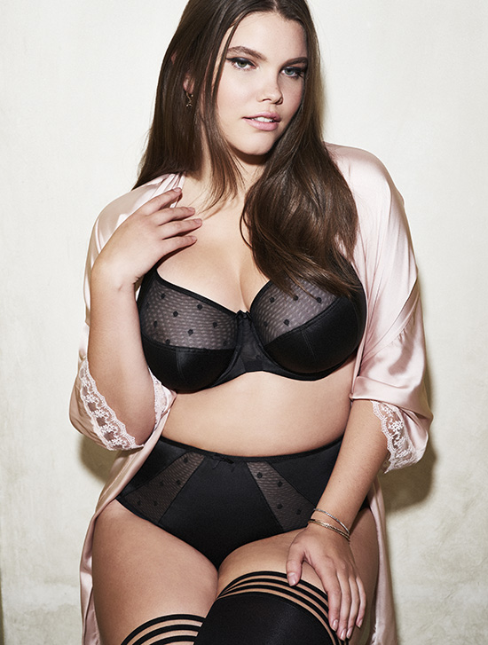 Sculptress Plus size bras on Lingerie Briefs