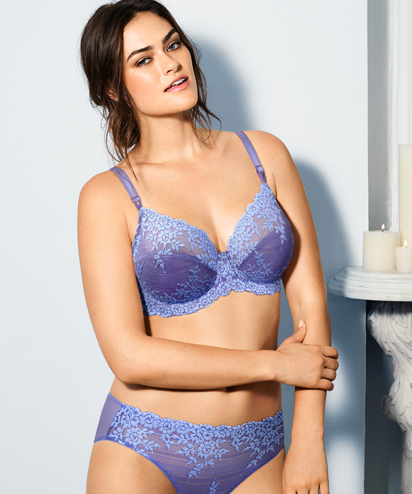 73ac48492687d Holiday outfits call for party-perfect bras. It's time to celebrate with  Wacoal's Embrace Lace Collection, now in Twilight Purple! Whether you're  treating ...