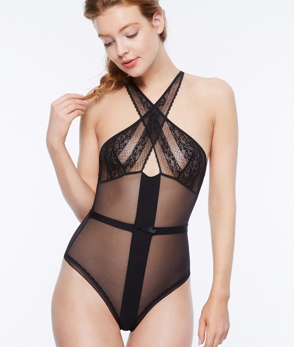Embrasse Moi Bodysuit - Passionata by Chantelle